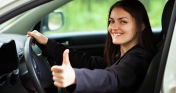 beste autoverzekering vinden duim omhoog