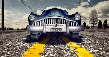 classic car op de weg - classic car verzekeren